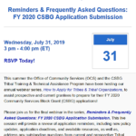 Reminders and Frequently Asked Questions